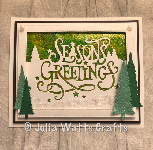 Creative Expressions Paper Cuts Collection Die - Seasons Greetings CEDPC1085