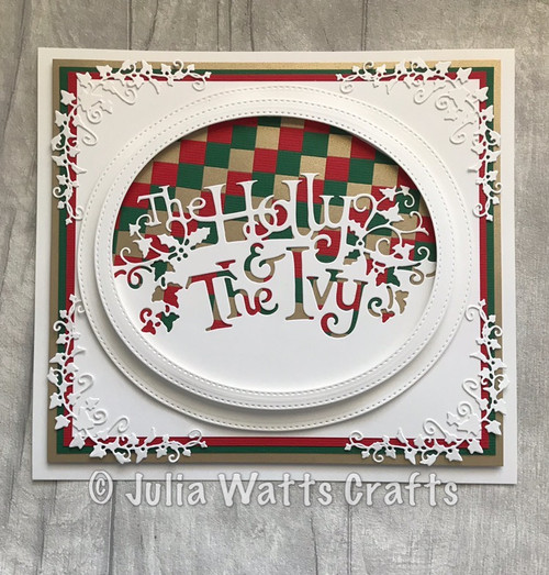 Creative Expressions Paper Cuts Collection Die - The Holly and the Ivy   CEDPC1087