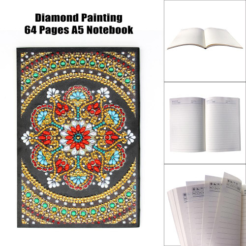 5D DIY Diamond Painting A5 Notebook 01
