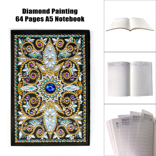 5D DIY Diamond Painting A5 Notebook 04