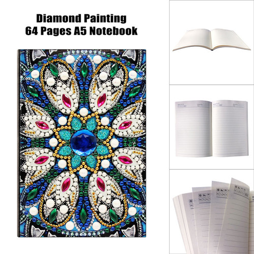 5D DIY Diamond Painting A5 Notebook 22