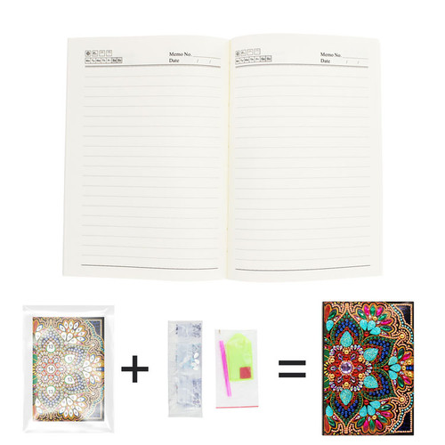 5D DIY Diamond Painting A5 Notebook 24