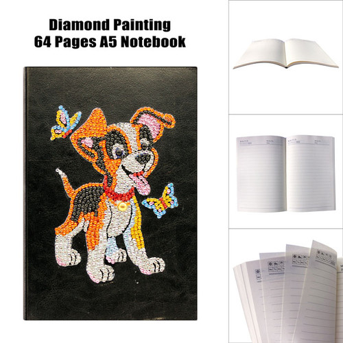 5D DIY Diamond Painting A5 Notebook 17