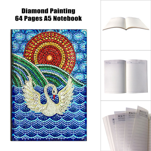 5D DIY Diamond Painting A5 Notebook 20