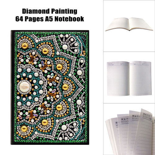 5D DIY Diamond Painting A5 Notebook 25