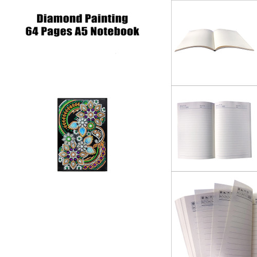 5D DIY Diamond Painting A5 Notebook 31
