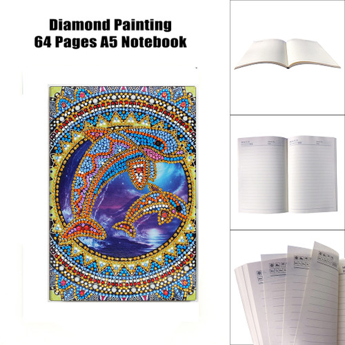 5D DIY Diamond Painting A5 Notebook 40
