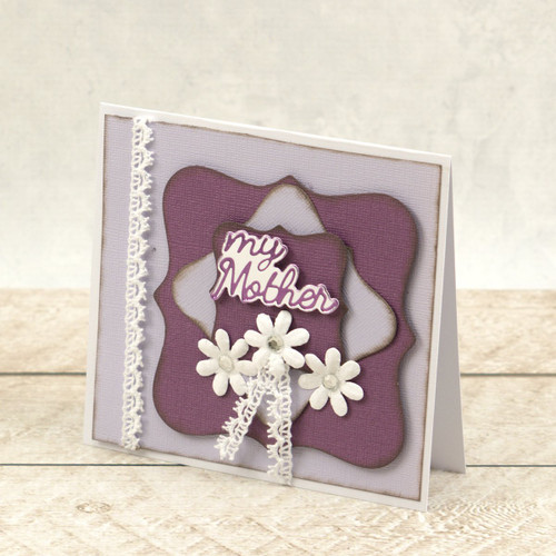 Couture Creations Mini Cut Foil & Emboss Die - Dazzlia - My Mum Sentiment CO726713