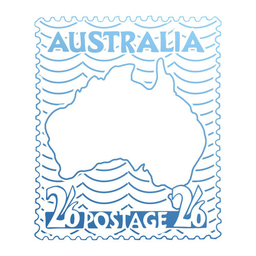 Couture Creations Mini Stamp - Sunburnt Country - Australia Postage Stamps CO727202