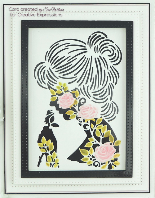 Sue Wilson Perfect Portrait Collection - Rose Lady CED1151