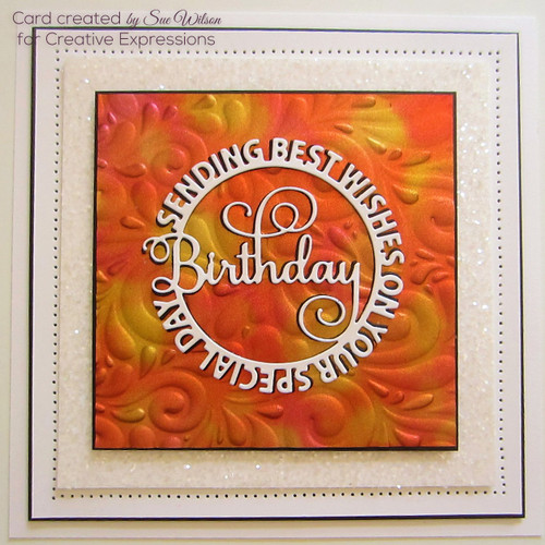 Sue Wilson Circle Sayings Collection - Birthday CED26003