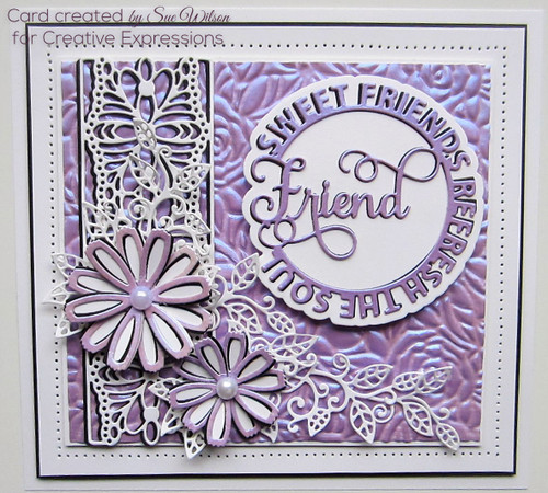 Sue Wilson Circle Sayings Collection - Friend CED26005