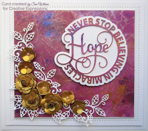 Sue Wilson Circle Sayings Collection - Hope CED26006