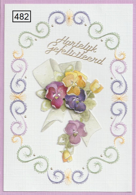 Laura's Design Card Stitching e-Pattern - LD482