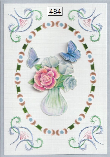 Laura's Design Card Stitching e-Pattern - LD484