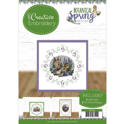Creative Embroidery Amy's Design A4 Booklet - Botanical Spring