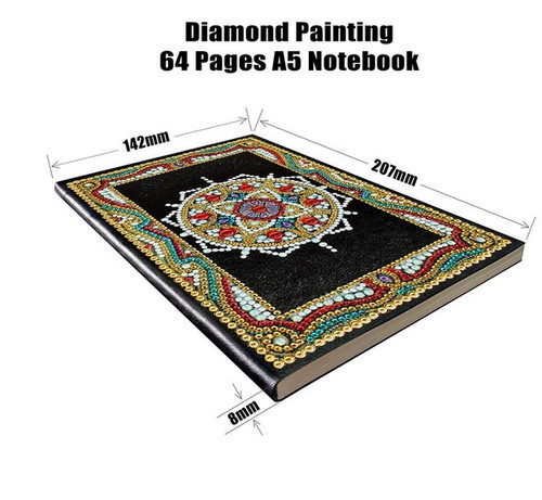 5D DIY Diamond Painting A5 Notebook 16