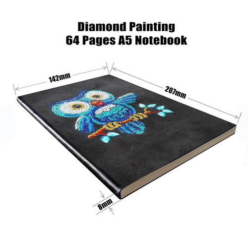 5D DIY Diamond Painting A5 Notebook 11