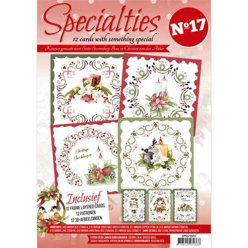 Specialties A4 Booklet #17 - Card Embroidery & Hobbydots