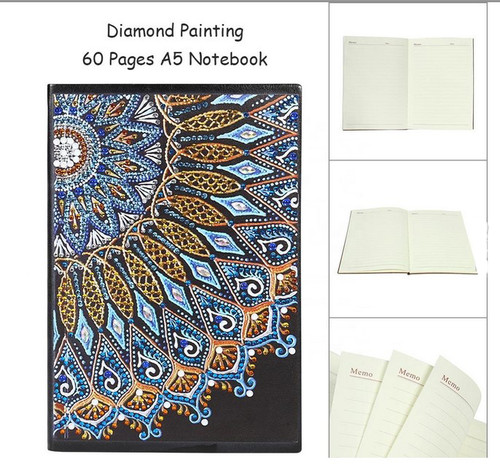5D DIY Diamond Painting A5 Notebook BJ021