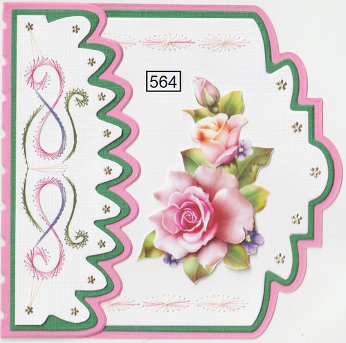 Laura's Design Card Stitching e-Pattern - LD564