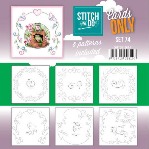 Stitch and Do Card Stitching Cardlayers Only - Set 74