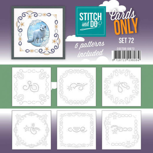 Stitch and Do Card Stitching Cardlayers Only - Set 72