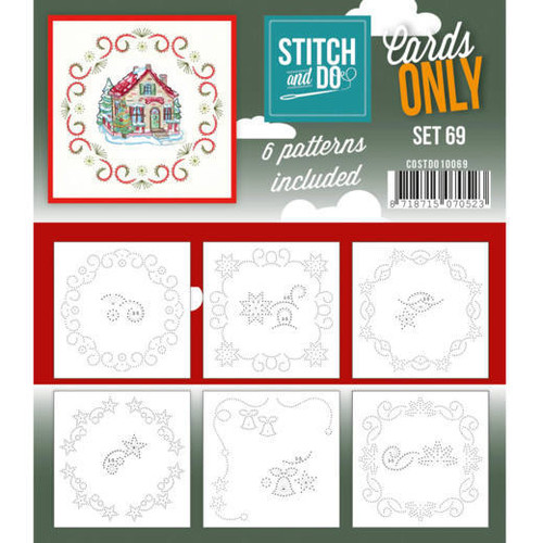 Stitch and Do Card Stitching Cardlayers Only - Set 69