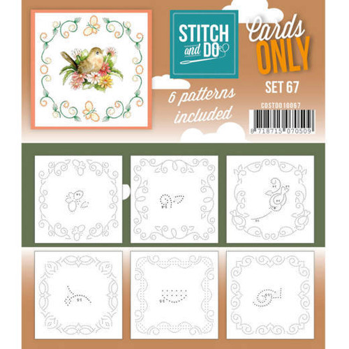 Stitch and Do Card Stitching Cardlayers Only - Set 67