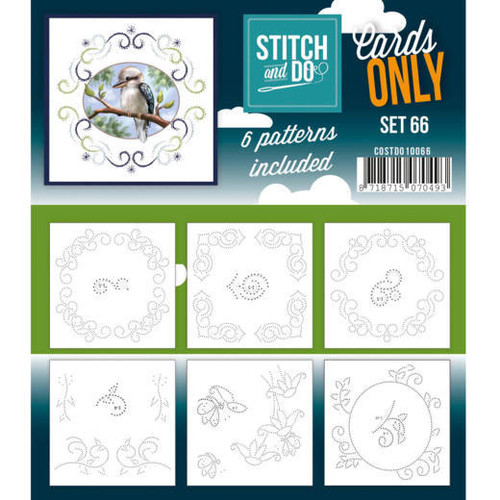 Stitch and Do Card Stitching Cardlayers Only - Set 66