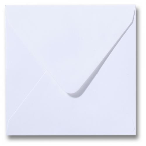 Envelopes 150 Square 120gsm - WHITE Pk 25