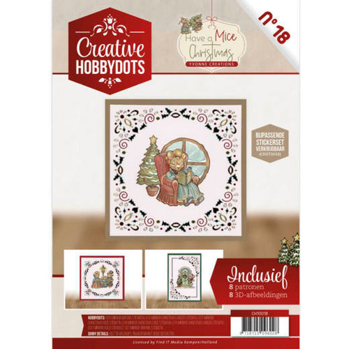 Creative Hobbydots 18 Booklet - Have a Mice Christmas
