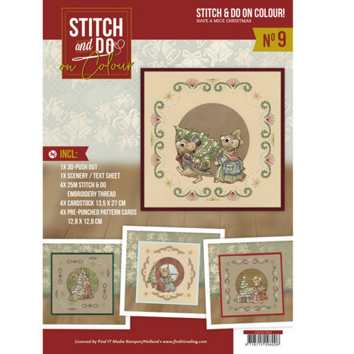 Stitch and Do on Colour 009 -  Have a Mice Christmas