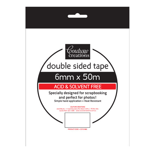 Couture Creations 6mm Double-sided tape