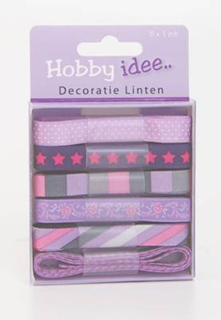 Hobby Idee Ribbon Set 8