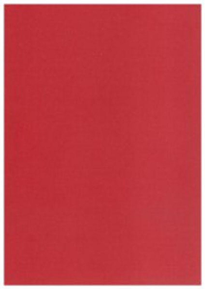 """Card Pack 5"""" x 7"""" Matte Texture 20 Sheets 270gsm - RUBY"""