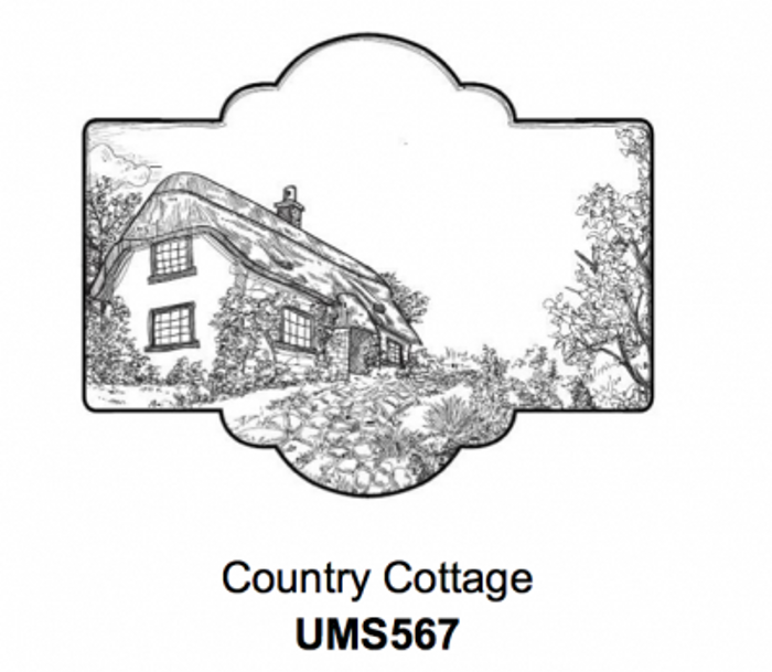 Sue Wilson Stamps To Die For - COUNTRY COTTAGE UMS567 - 10% Off FREE POSTAGE Pre-Order