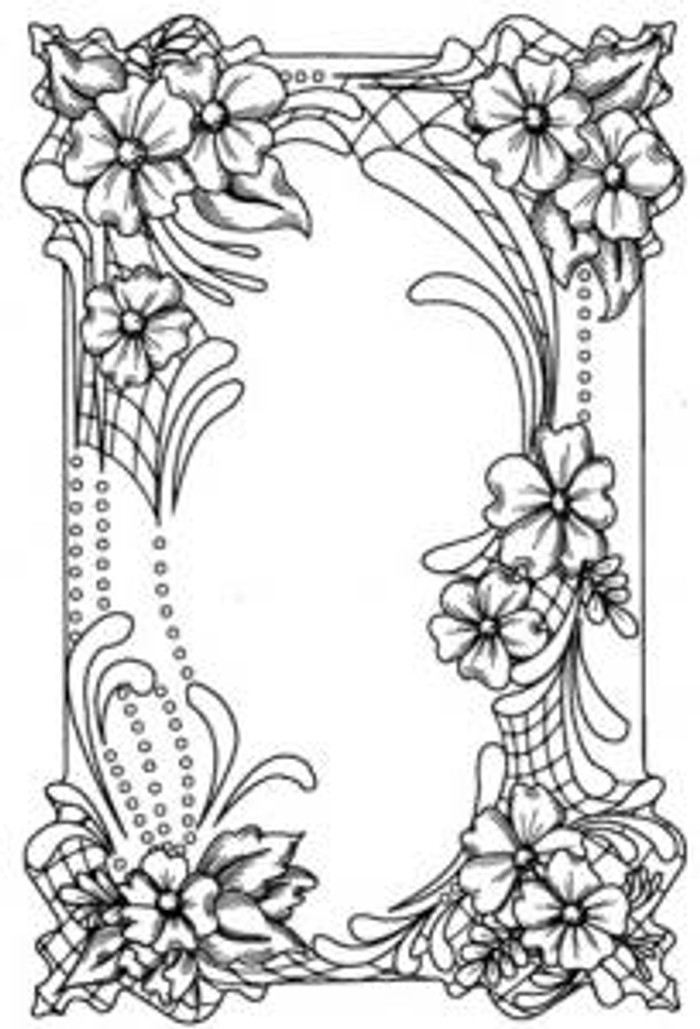 Sue Wilson Stamps To Die For - FLORAL CARTOUCHE UMS553  - 10% Off FREE POSTAGE Pre-Order