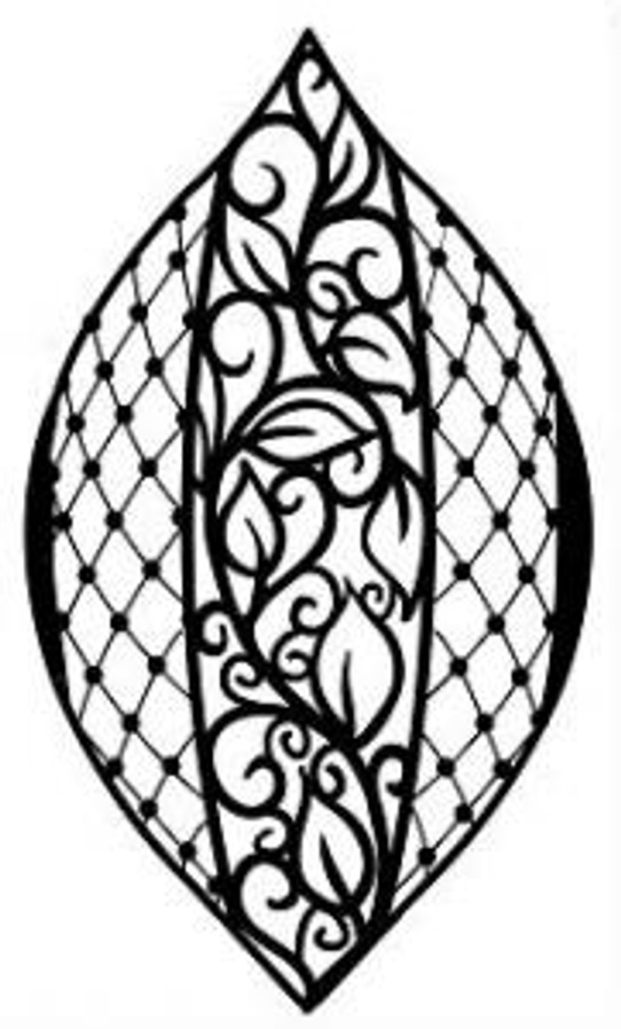 Sue Wilson Stamps To Die For - BEADED LATTICE BAUBLE UMS539 - 10% Off FREE POSTAGE Pre-Order