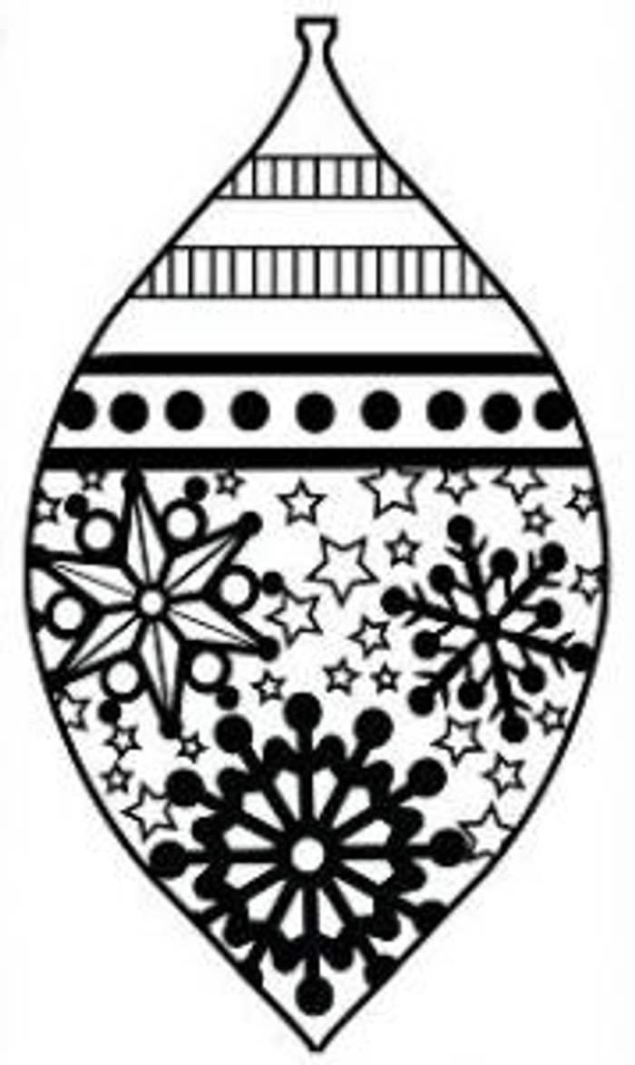 Sue Wilson Stamps To Die For - SNOWFLAKES & STARS BAUBLE UMS536 - 10% Off FREE POSTAGE Pre-Order