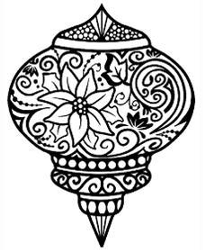Sue Wilson Stamps To Die For - POINSETTIA BAUBLE UMS527 - 10% Off FREE POSTAGE Pre-Order