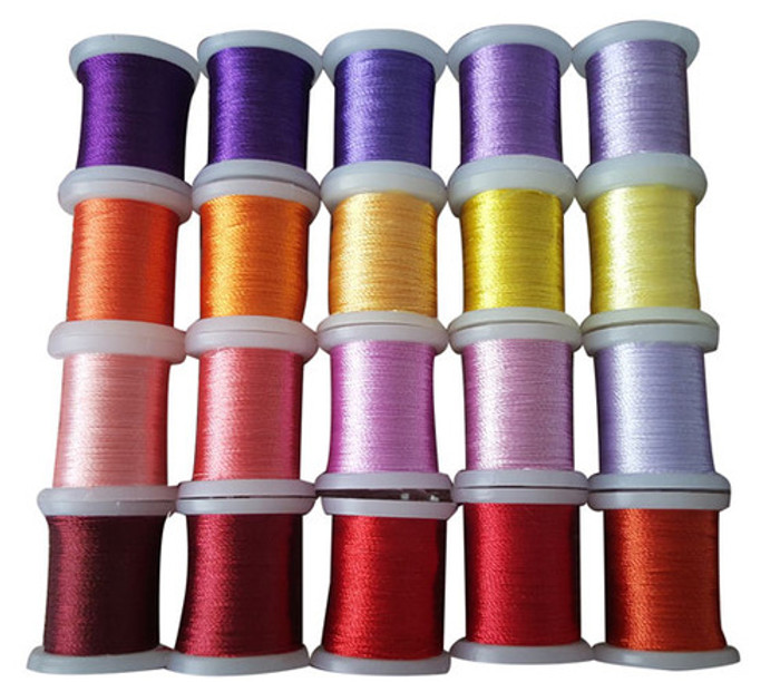 Nellie Snellen Card Embroidery Thread  Set 008 - 20 Spools
