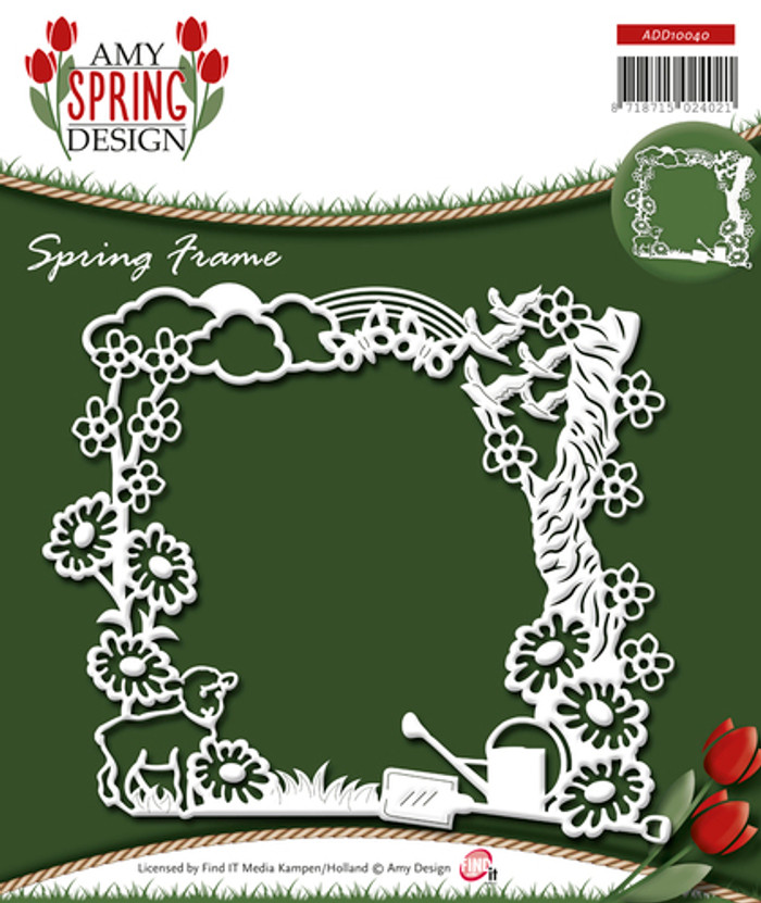 Amy Design - Spring Frame Die -   ADD10040