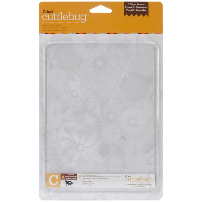 Cuttlebug Adapter Plate C - 5.875 x 7.75 inches