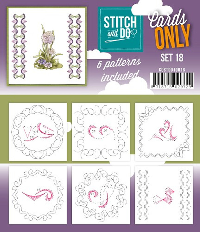 Stitch and Do Card Stitching Cardlayers Only - Set 18