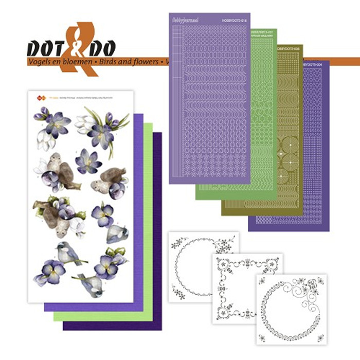 Dot and Do Kit #32- Birds and Flowers