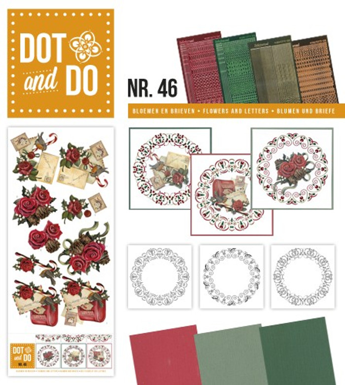 Dot and Do Kit #46 - Flowers and Letters