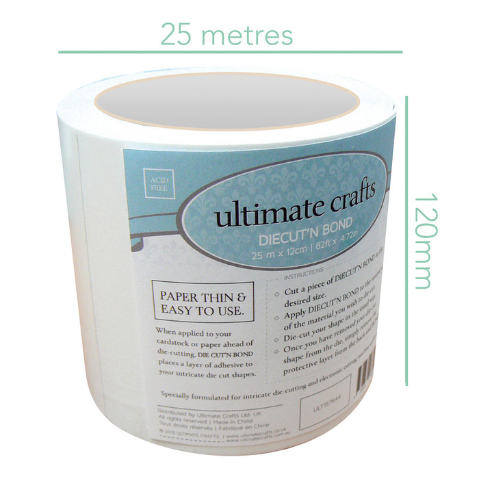 Ultimate Crafts Diecut'N Bond Adhesive Roll