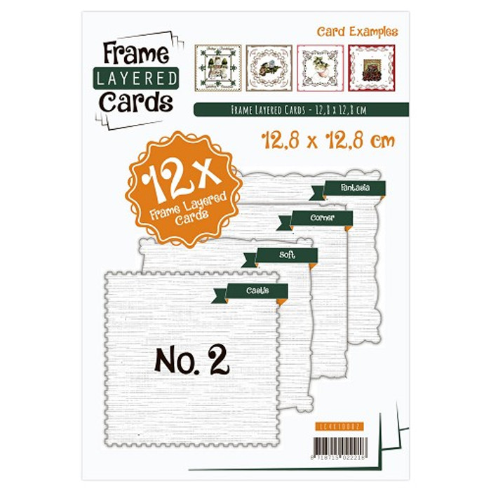 Frame Layered Cards Booklet #2 LC4K10002