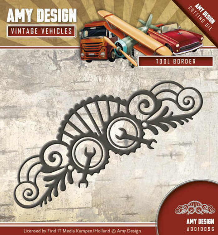 Amy Design - Vintage Vehicles - Tool Border ADD10096